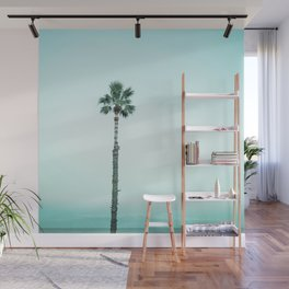 Stand out - aqua blue Wall Mural
