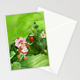 The Littlest Strawberry  Stationery Cards