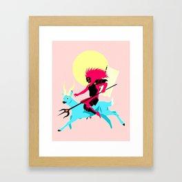 Sato the Water Demon Framed Art Print