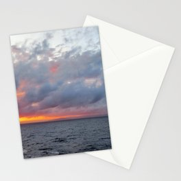 Fiery Sunset Stationery Cards