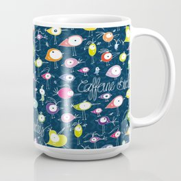 Caffeine Birdies Coffee Mug