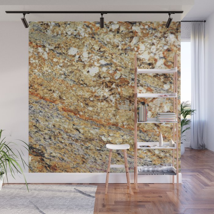 How to stick granite to wall