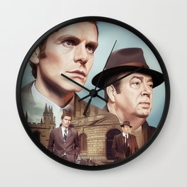 Oxford City Police Wall Clock