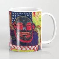cartoon Mugs featuring Cartoon by Mira C
