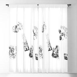 Skins: effy, jj, sid, cassie, freddie Blackout Curtain