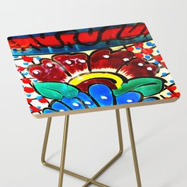 *SUNFLOWER TALAVERA* Side Table