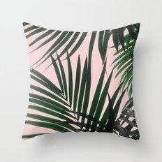 Delicate Jungle Theme Throw Pillow