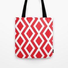 Red Diamond Tote Bag