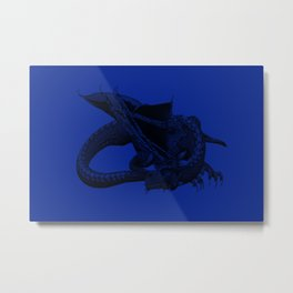 Big Blue. Metal Print