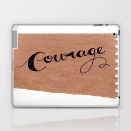 Simple Courage Laptop & iPad Skin