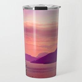 Sunset Sea to Sky Travel Mug