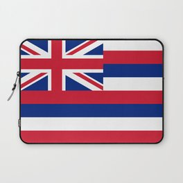 Flag of Hawaii, High Quality image Laptop Sleeve