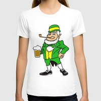 patrick T-shirts featuring St. Patrick by Rab Sizzle