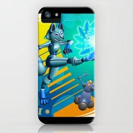 Krispe Kitsune iPhone Case