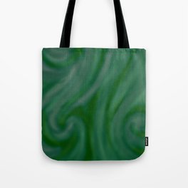Green SWIRL Tote Bag