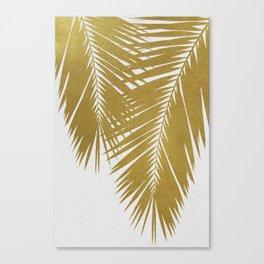 Palm Leaf Gold II Canvas Print