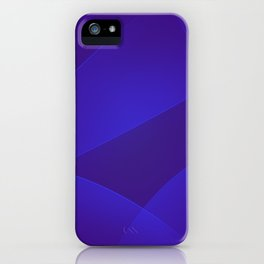 Blue Gem, Daisy Bush & Persian Indigo Colors iPhone Case