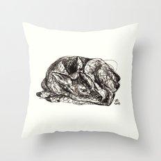Woodland Creatures: Fawn Throw Pillow