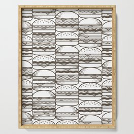 Burgers Wall Serving Tray