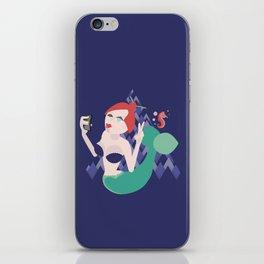The Mermaid Selfie iPhone Skin