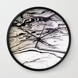 LIQUID MARBLED & PASTEL Wall Clock