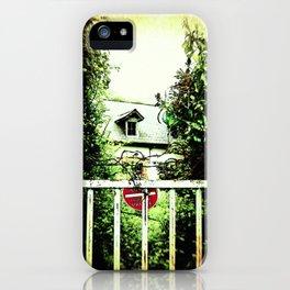 Wild Garden II iPhone Case