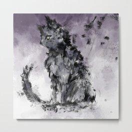 stray cat Metal Print