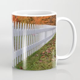 White Picket Fence Coffee Mug