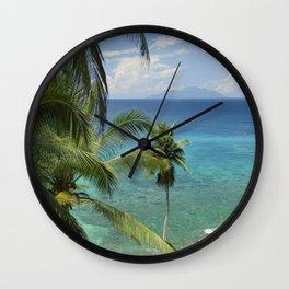 Therese island, Seychelles Wall Clock