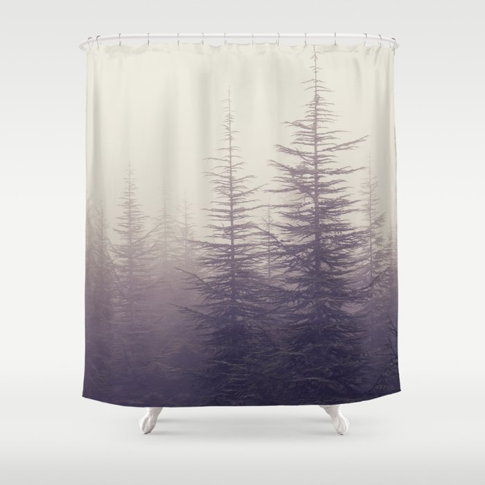 abetos retro panoramic shower curtain by guidomontanes. Black Bedroom Furniture Sets. Home Design Ideas