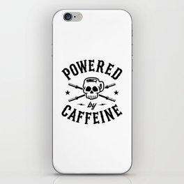 Powered By Caffeine iPhone Skin