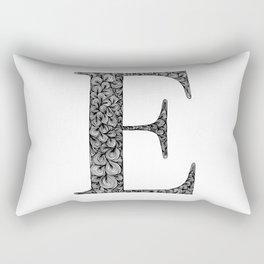 E Rectangular Pillow