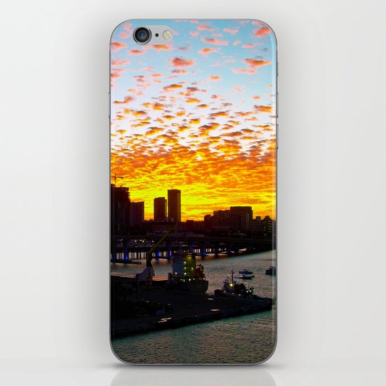 Miami Dusk iPhone & iPod Skin