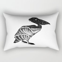 THE PELICAN AND THE SEA Rectangular Pillow