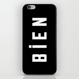 French New Wave - Bien iPhone Skin