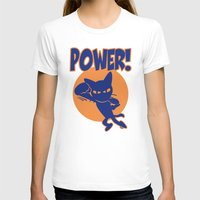 power T-shirts featuring Power! by BATKEI