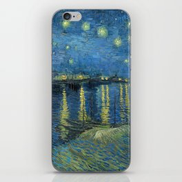 Vincent Van Gogh Starry Night over the Rhone 1888 iPhone Skin