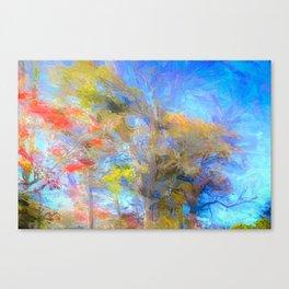 Autumn Art Sleepy Hollow Canvas Print