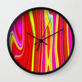 Twiggy Stripes cv1 Wall Clock
