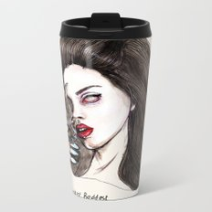 "Lana ""The saddest,baddest diva in Rock"" Metal Travel Mug"