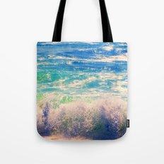 Aqua Mist Tote Bag