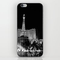 las vegas iPhone & iPod Skins featuring Las Vegas by Sara Ess