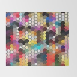 Forest of dots gg Throw Blanket