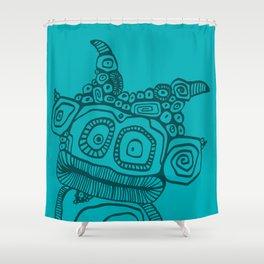 Biquette Shower Curtain