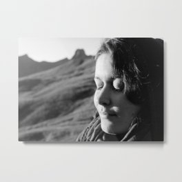 A Woman in peace Metal Print