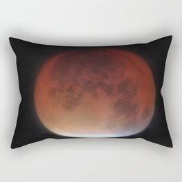 Super blood moon Rectangular Pillow