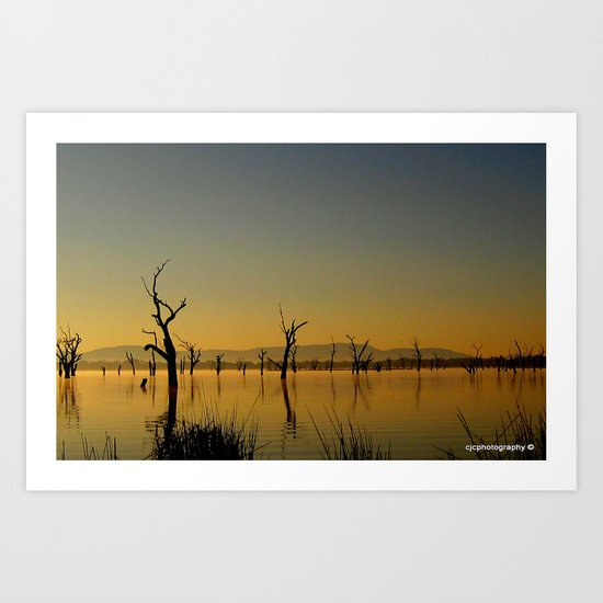 Tranquility - SOLD Art Print