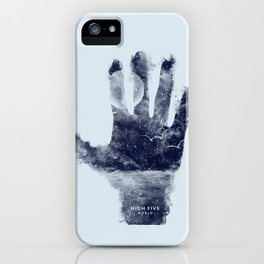 High five world iPhone Case