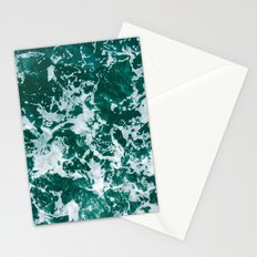 Sea Green Love Stationery Cards
