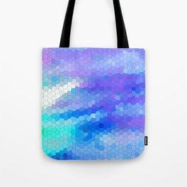 blue scales Tote Bag